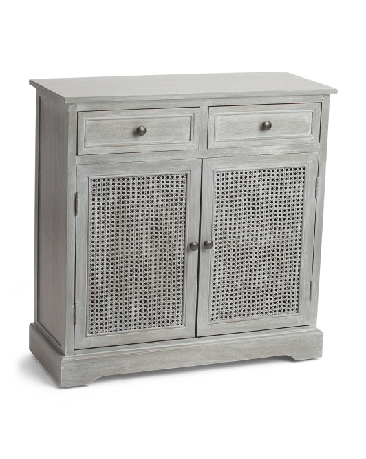 2 Drawer 2 Door Storage Cabinet