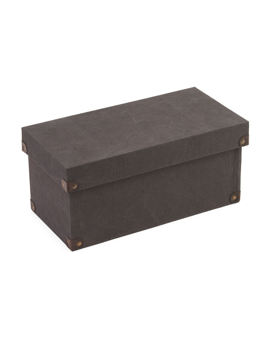 Made In India Small Canvas Storage Bin