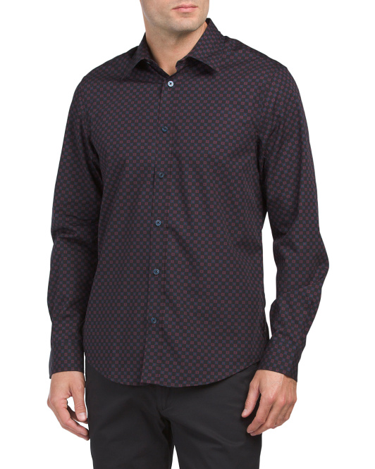 Mod Check Party Button Down Shirt