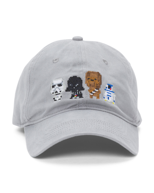 Multi Character Adjustable Cap