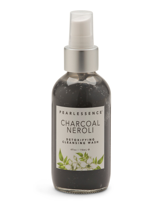 Charcoal & Neroli Face Cleansing Wash