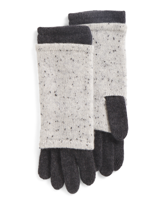 3-in-1 Donegal Cashmere Gloves