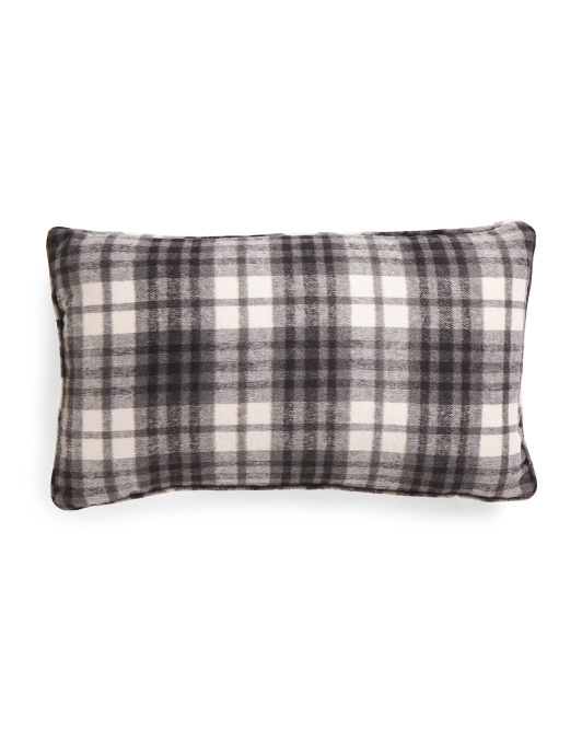 14x24 Plaid Pillow