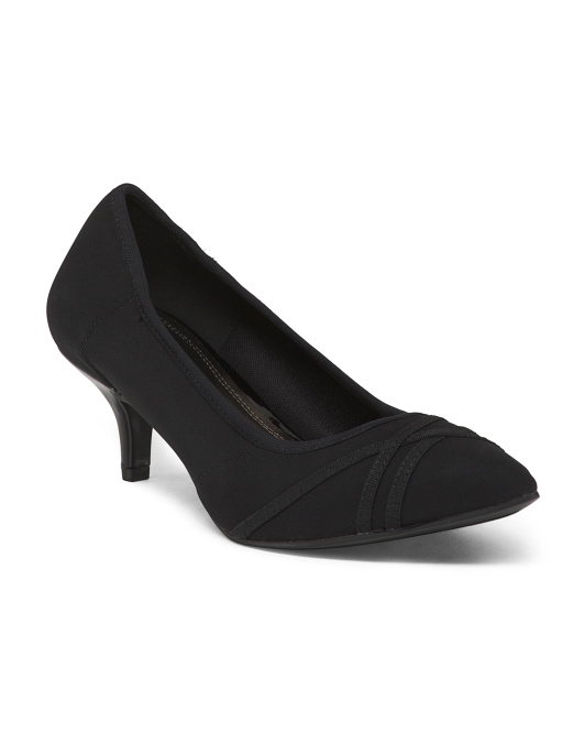 Stretch Detailed Pumps