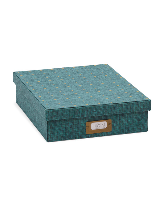 Cloth Covered Document Box