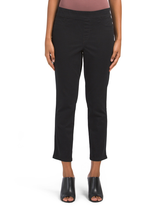 Thea Pull On Cropped Leggings
