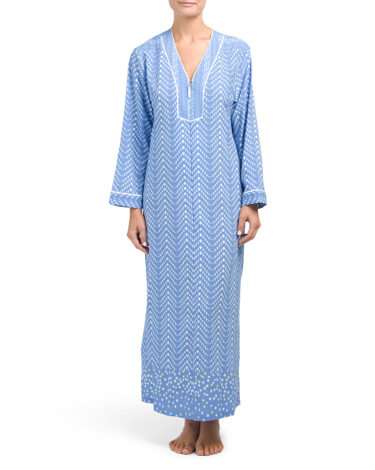 Long Sleeve Sleep Gown