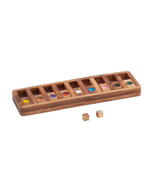 11pc Shut The Box Game