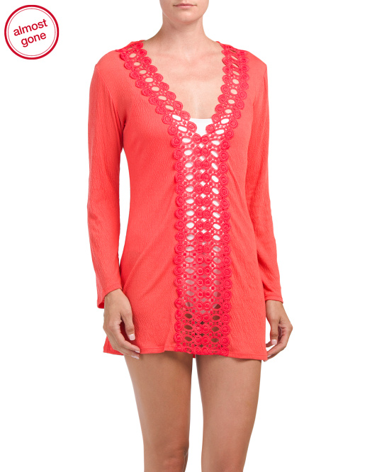 Lace Cover-up Tunic