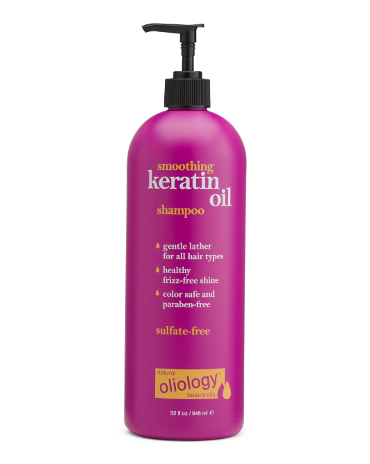 Shampoo With Keratin Oil