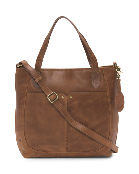 Raymont Leather Tote