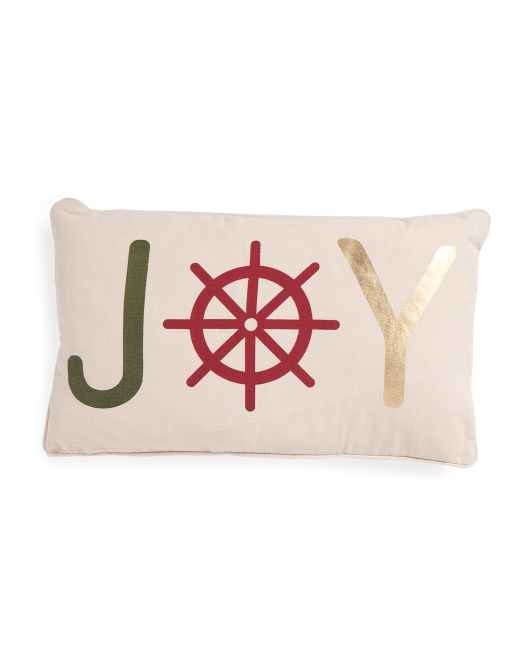 12x20 Coastal Joy Pillow