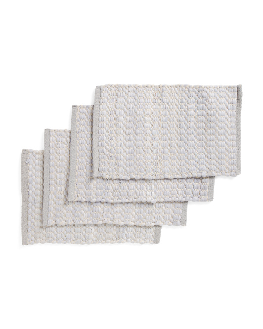 Made In India 4pk Recycled Placemats