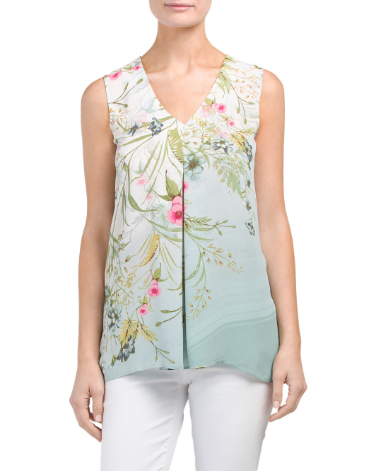 Faded Botanical Panel Top