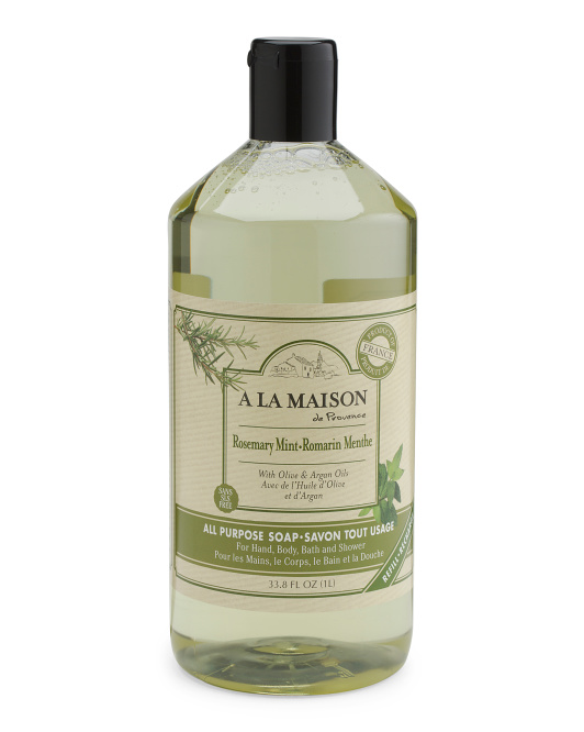 Made In France Rosemary Mint Liquid Soap