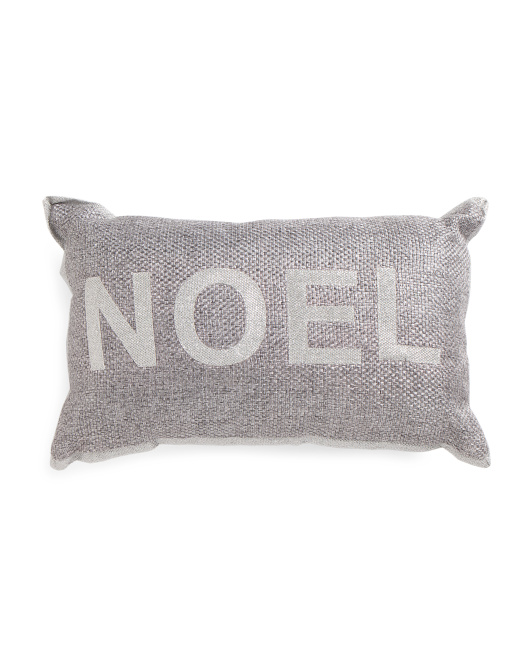 Made In India 12x20 Noel Pillow