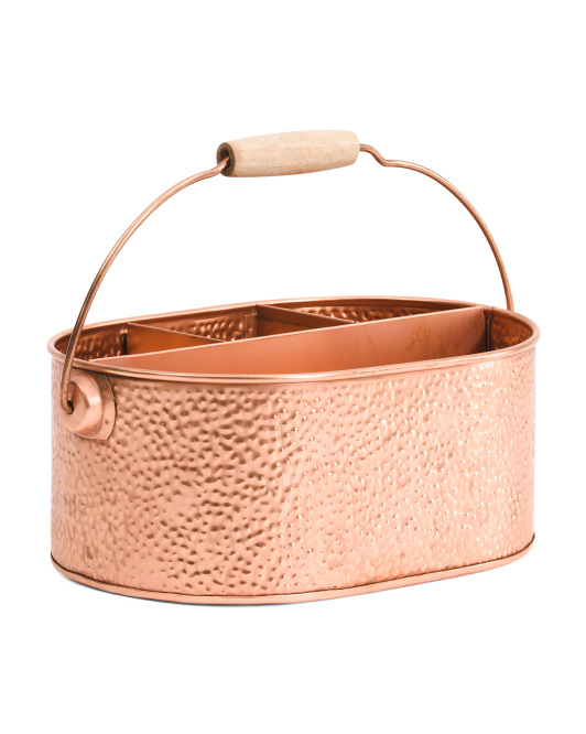 Made In India Galvanized Copper Caddy