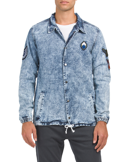 Denim Coaches Jacket