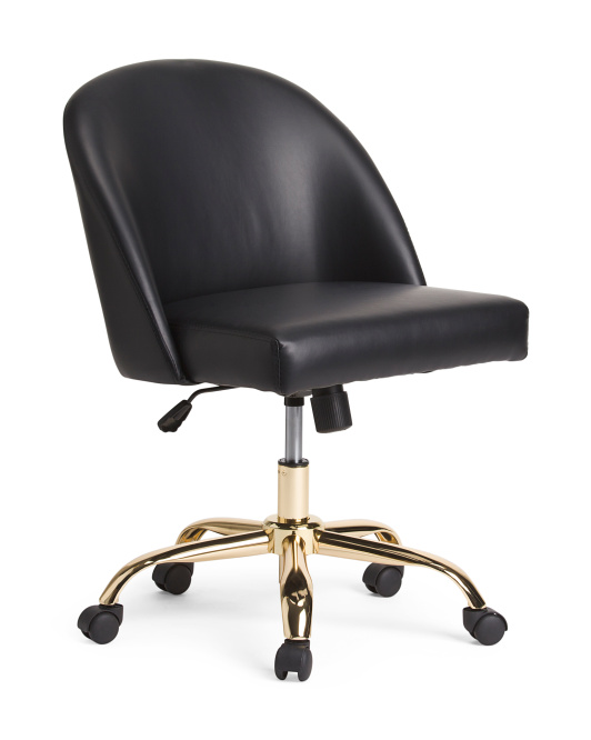 Oval Back Office Chair