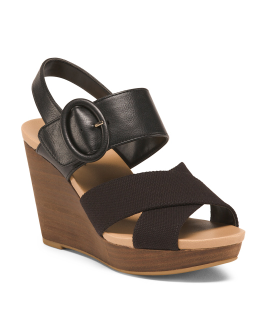 Memory Foam Wedge Sandals