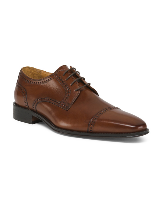 Men's Made In Italy Leather Oxfords