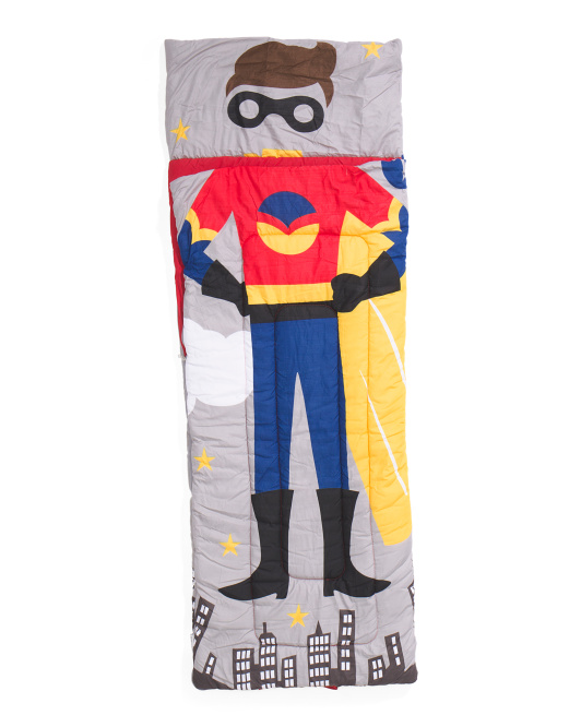 Super Hero Sleeping Bag