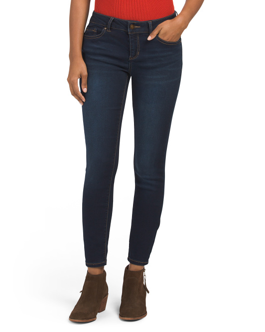 Miss Pib Booty Enhancing Ankle Jeans