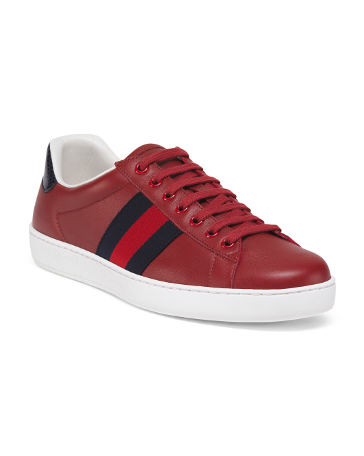 Made In Italy Leather Sneakers