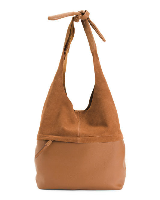 Off Beat Leather Hobo