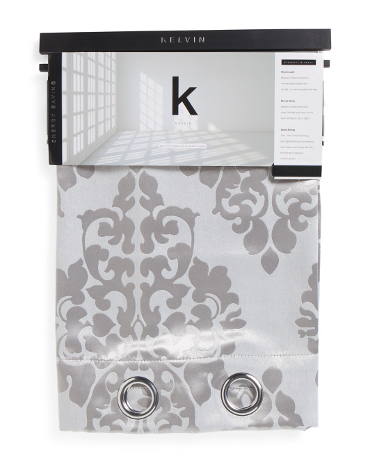 Set Of 2 Blackout Curtains