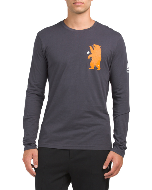 Long Sleeve Crossfit Bear Tee