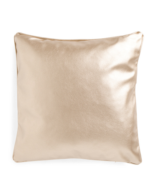 20x20 Embossed Solid Pebble Pillow