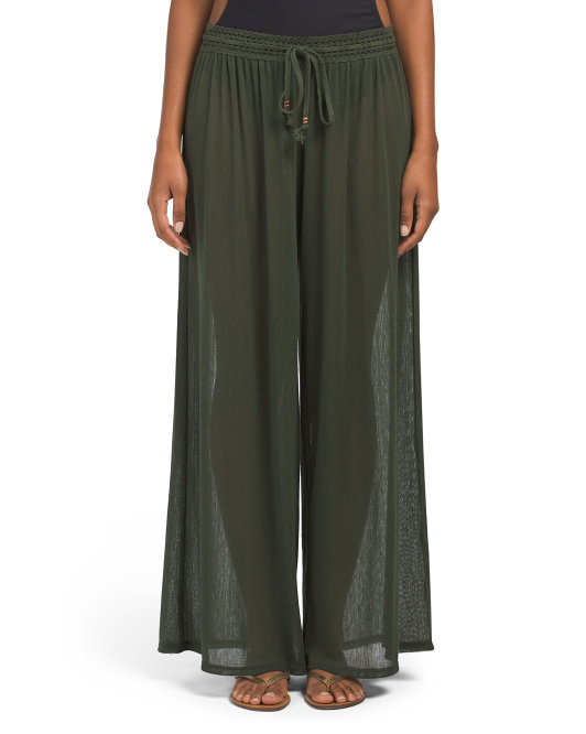 Sophia Mesh Cover-up Pants