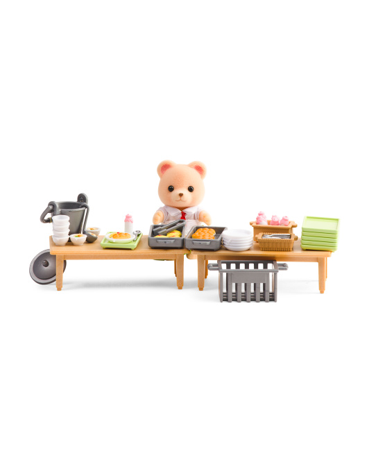 Kids Toy School Lunch Set