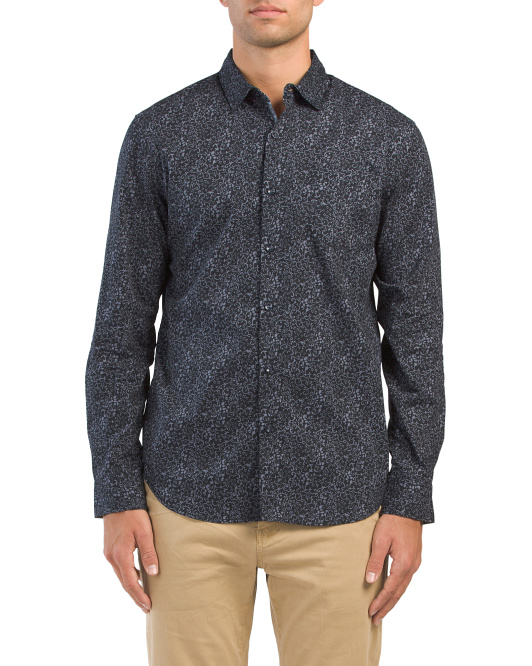Floral Soft Touch Slim Fit Shirt