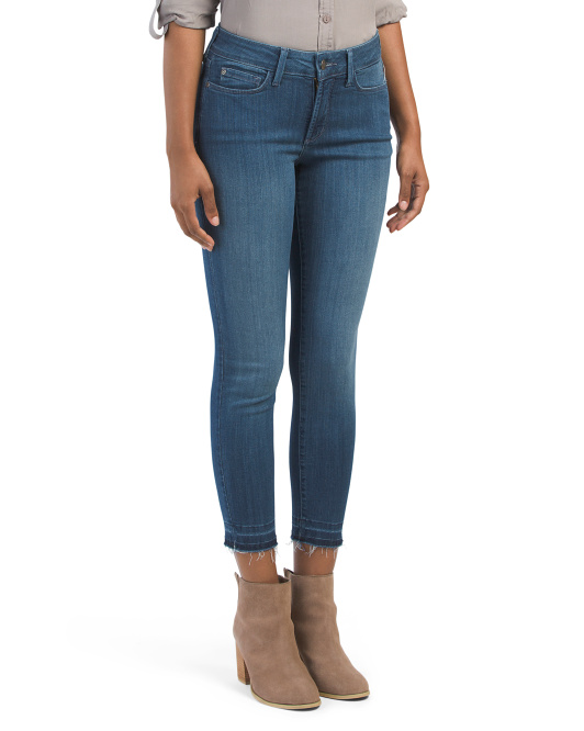 Petite Made In USA Stretch Alina Ankle Jeans