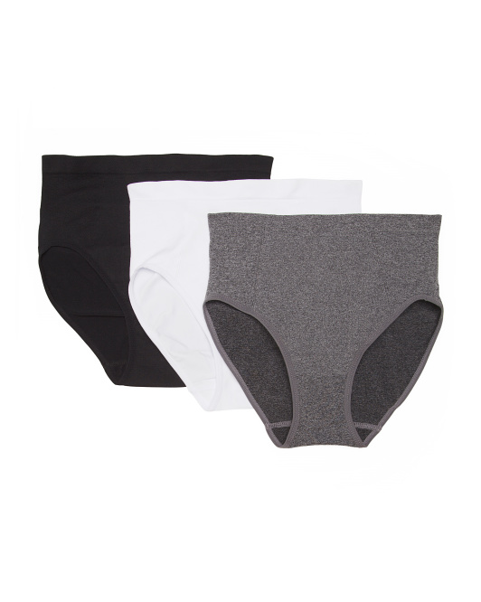 3pk Seamless Shaping Panties
