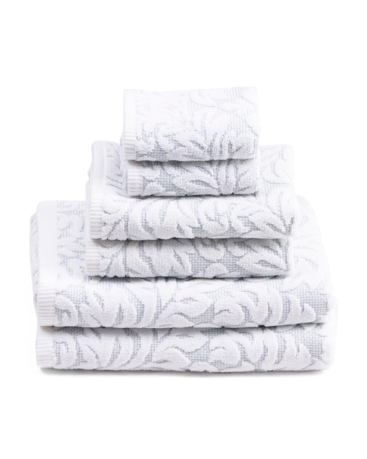 6pc Tuscany Bath Towel Set