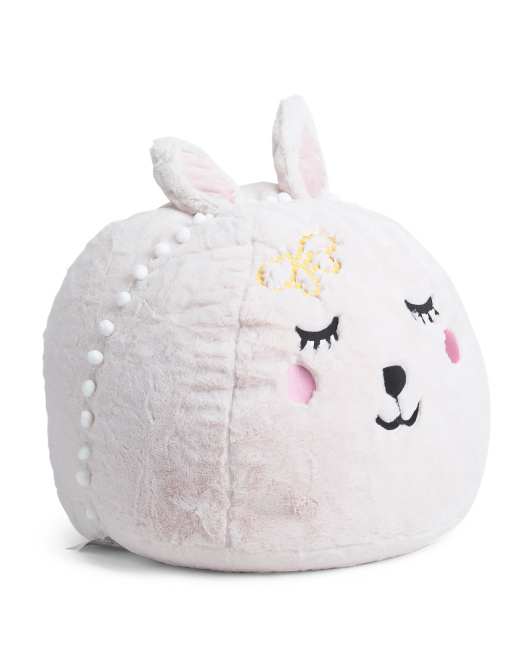 Made In USA 30in Plush Bunny Chair