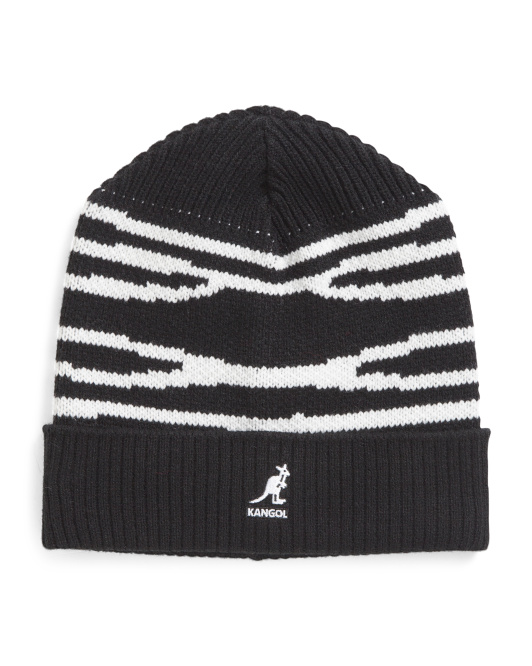 Dorsal Striped Beanie