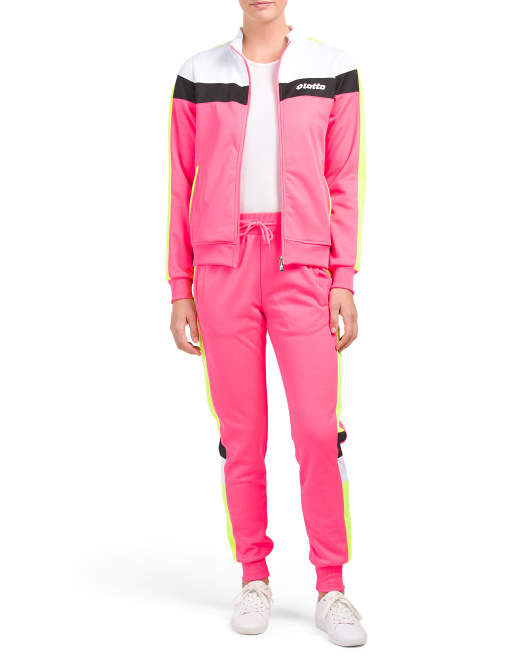 Color Block Track Suit