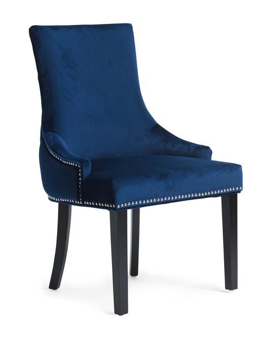 Sonya Mistral Navy Chair Accent Furniture T J Maxx