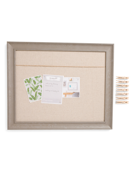 16x20 Photo Clip Memo Board