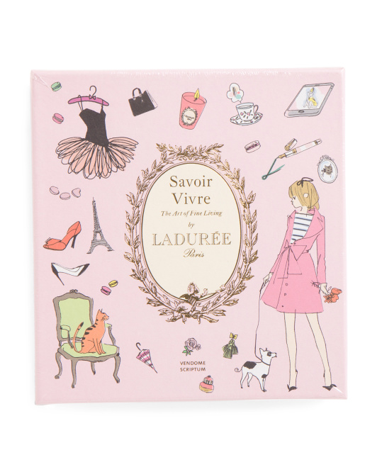 Laduree Savior Vivre Lifestyle Book