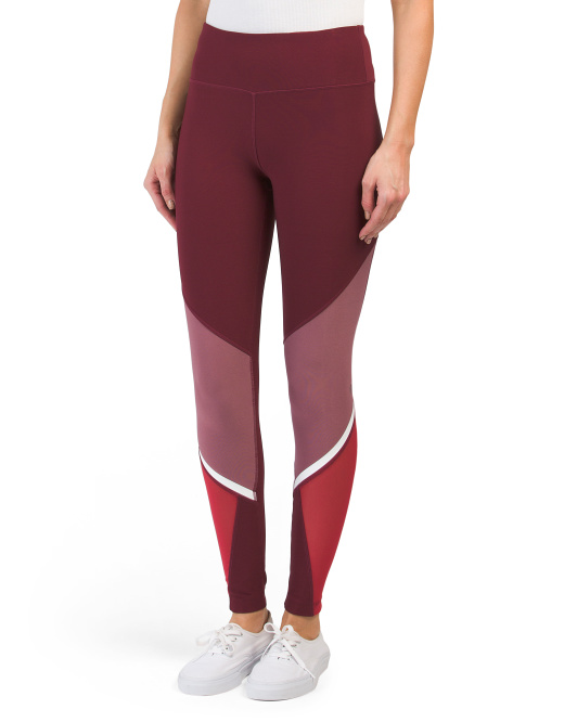 Quantum Color Block Leggings