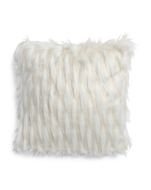 20x20 Indiana Faux Fur Pillow