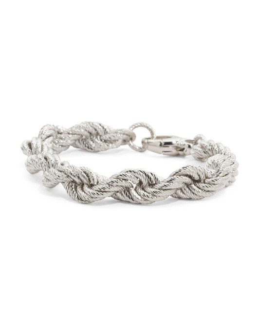 Made In Italy Rope Bracelet