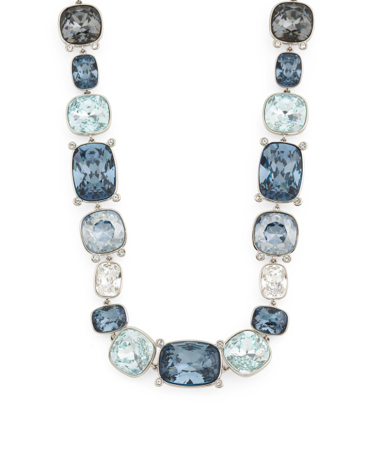 Crystal Divinity Statement Necklace