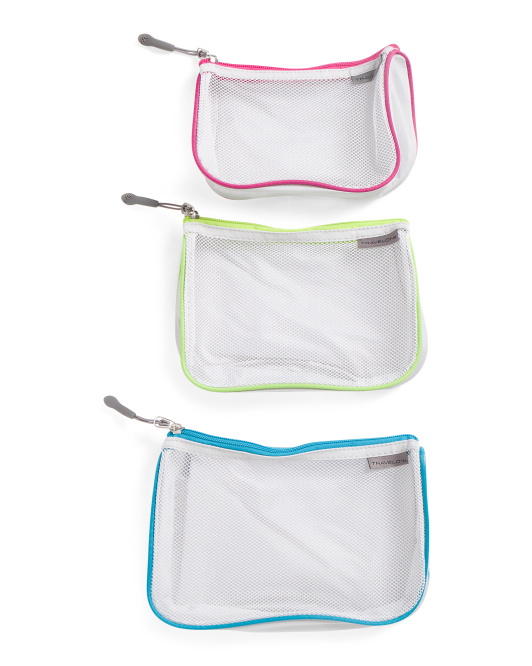 3pc Mesh Packing Pouches