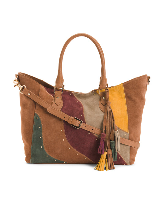 Anna Suede Tote